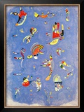 Sky Blue, c.1940 Prints by Wassily Kandinsky