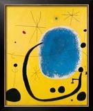 L'Oro dell' Azzurro Prints by Joan Miró