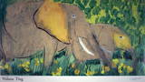 Elephants Prints by Walasse Ting