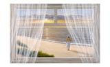 Promenade matinale Affiches par Diane Romanello