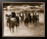Running Horses Prints by Monte Nagler