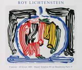 Reflexo Impressões colecionáveis por Roy Lichtenstein