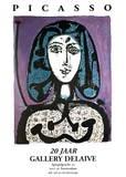 La Femme a La Resille Collectable Print by Pablo Picasso