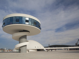 Centro Niemeyer, Aviles, Spain Photographic Print by Walter Bibikow