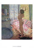 Le Cabinet de Toilette au Canape Rose Prints by Pierre Bonnard