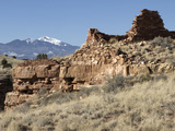 Native American Ruins at Wupatki National Monument, Arizona, USA Photographic Print by Luc Novovitch