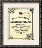 French Document 4 Framed Giclee Print by  Z Studio