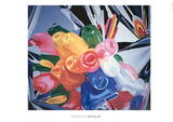 Tulips Poster by Jeff Koons