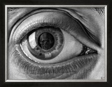 Eye Art by M. C. Escher