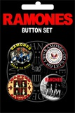 Ramones Badge Button Pack Badge