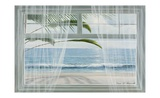 View of the Tropics Print by Diane Romanello