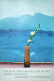 Mount Fuji with Flowers Lámina coleccionable por David Hockney