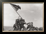Flag Raising on Iwo Jima, c.1945 Prints by Joe Rosenthal
