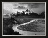 Tetons and The Snake River, Grand Teton National Park, c.1942 Prints by Ansel Adams