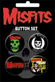 Misfits Badge Button Pack Badge