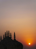 Madhavendra Palace at Sunset, Jaipur, Rajasthan, India Photographic Print by Keren Su