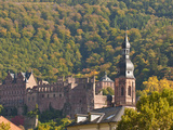 View of Heidelberg's Old Town from the Philosophenweg, Heidelberg, Germany Photographic Print by Michael DeFreitas