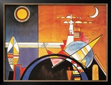 Grand Torre, Kiev Prints by Wassily Kandinsky