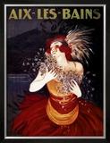 Aix-Les-Bains Print by Leonetto Cappiello