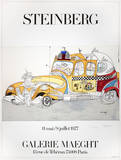 Taxi Limited Edition by Saul Steinberg