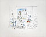 Portrait of R Limited Edition by Saul Steinberg