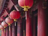 Inside Literature Temple, Vietnam Photographic Print by Keren Su