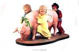 Ushering in Banality Kunst von Jeff Koons