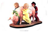 Ushering in Banality Prints by Jeff Koons