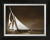 Sailing Yacht Mohawk at Sea, c.1895 Posters