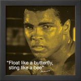 Muhammad Ali: Float Like a Butterfly Poster