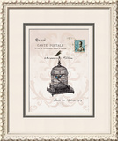 Paris 1908 Framed Giclee Print by Wendy Paula Patterson