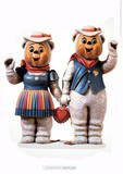 Winter Bears Posters av Jeff Koons
