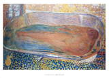 La Grande Baignoire (Nu) Posters por Pierre Bonnard