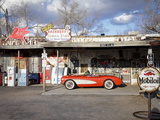Route 66, Hackberry, Arizona, USA Lámina fotográfica por Julian McRoberts