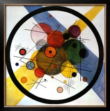 Circles in Circle Art by Wassily Kandinsky