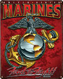 USMC - Eagle, Globe & Anchor Steel Sign Wall Sign