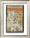 Greetings from California Prints