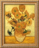 Vase of Fifteen Sunflowers, c.1889 Poster by Vincent van Gogh