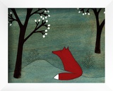 The Fox and the Marshmallows Prints by Kristiana Pärn