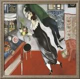 El cumpleaños Obra de arte por Marc Chagall