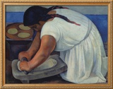 The Grinder, c.1926 Posters by Diego Rivera