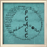 Peace Sign Print by Anna Quach