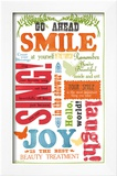 Beauty Smile Prints by Sharyn Sowell
