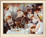 The Luncheon of the Boating Party, c.1881 Art by Pierre-Auguste Renoir