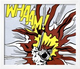 Whaam! (panel 2 of 2) Posters by Roy Lichtenstein