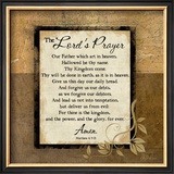 The Lord's Prayer Art by Jennifer Pugh