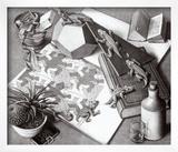 Reptiles Prints by M. C. Escher