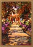 Il Viale del Gardino Posters by Claude Monet