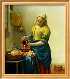 The Milkmaid, c.1658-1660 Print by Jan Vermeer