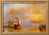 The Fighting Temeraire Prints by William Turner